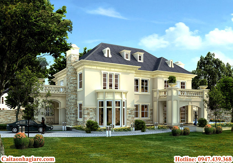 thiet-ke-biet-thu-dep-theo-phong-thuy Thiết kế biệt thự đẹp theo phong thủy