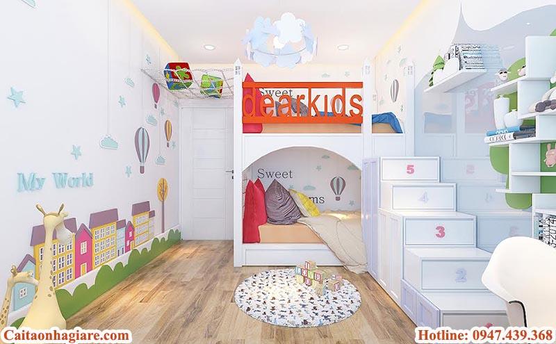 thiet-ke-phong-ngu-cho-tre-day-sang-tao Thiết kế phòng ngủ cho trẻ đầy sáng tạo