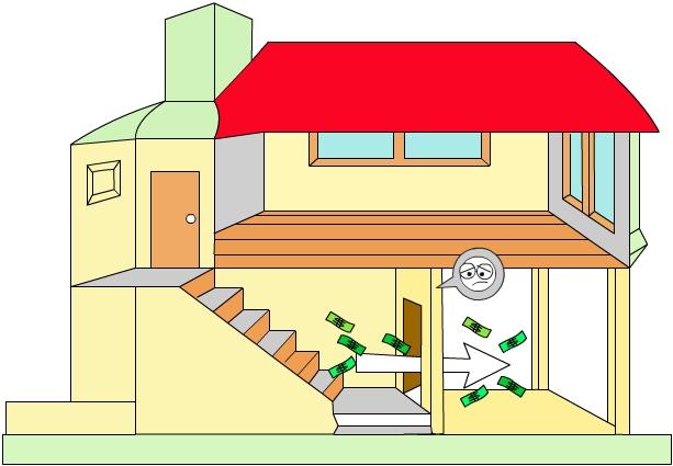 Mau-son-theo-phong-thuy Cần tránh khi cải tạo nhà giá rẻ theo phong thủy